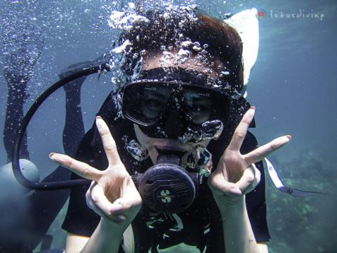 Première expérience, découvrez la plongée avec nous!