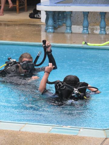 PADI Junior Open Water : Lotus Diving