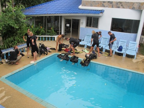 Lotus Diving Pool