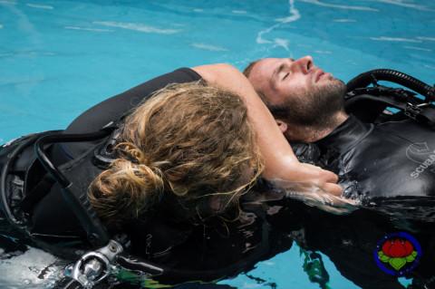 Diver stress and Rescue การดำน้ำช่วยเหลือผู้อื่น
